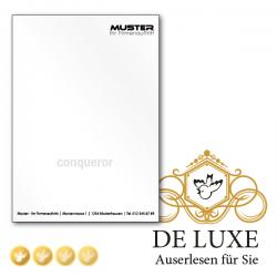 De Lux, hochwertiges Briefpapier, Schreibpapier, FSC