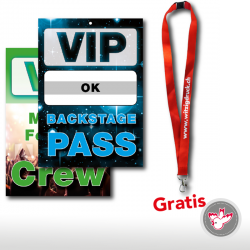Pass VIP Backstage