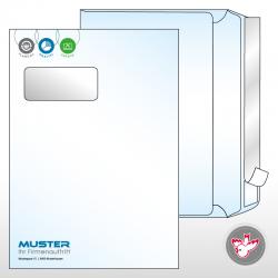 Kuvert C4 Standard 3/0-farbig