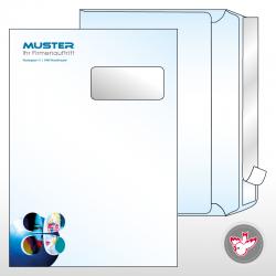Kuvert C4 Standard 4/0-farbig
