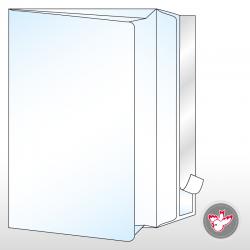 Seitenfalten, documento, 20 mm, witzigdruck.ch, Haftklebeverschluss, Füllmenge 20 mm,