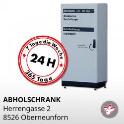 Abholschrank 8526 Oberneunforn, Witzig Druck AG