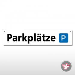 Miettafeln, Parkplätze