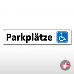 Miettafeln, Parkplätze...
