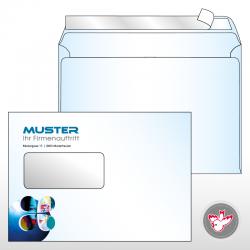 Kuvert C5 Standard 4/0-farbig