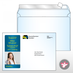 C5 Kuverts, FSC, Digitaldruck, Offsetdruck, Witzig Druck AG