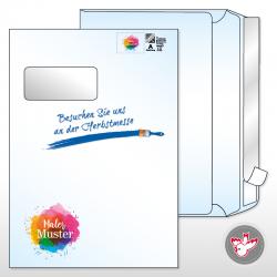 personalisiert Kuvert C4