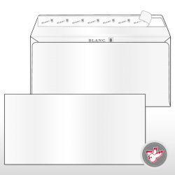 Kuvert C5/6 blanc, FSC