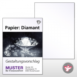 Flyer A5, 4/0 Diamant 170 g/m²