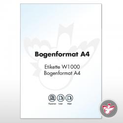 Drucker-/Kopieretiketten A4