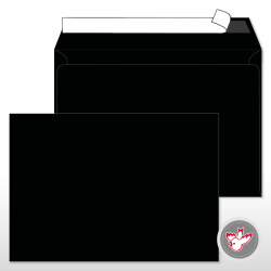 Kuvert schwarz, Witzig Druck AG