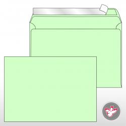Kuvert C5, Regenbogen mintgrün