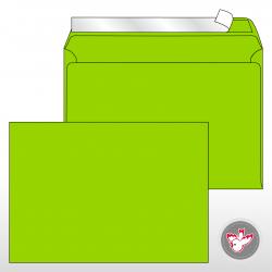 Kuvert C5, Regenbogen grasgrün