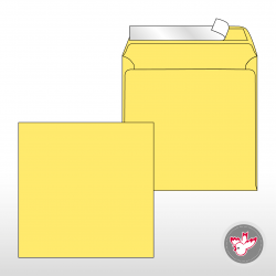 Kuvert gelb, Witzig Druck AG