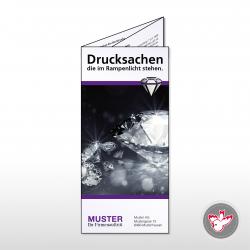 Falzflyer drucken, Witzig Druck AG
