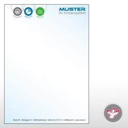 Briefpapier, Offsetdruck, Witzig Druck AG