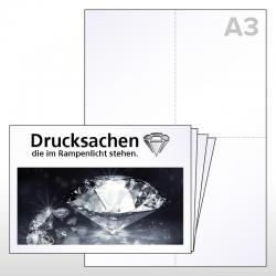 Kreuzbruck, Postflyer, Streuversand, News, Wurfsendung