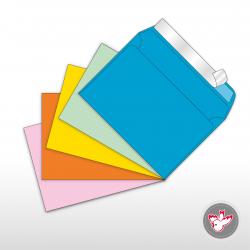 Kuverts C6 farbig, FSC