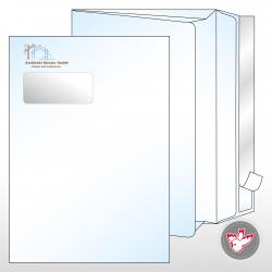 Couvert Seitenfalten Fenster links, Witzig Druck AG