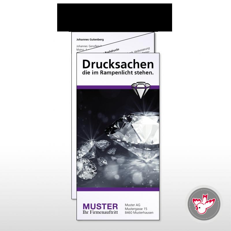 Flyer A6/5 drucken, Witzig Druck AG