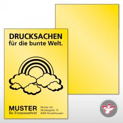 Farbiges Papier Drucken, Witzig Druck AG