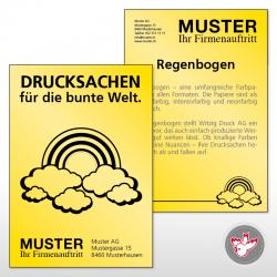 Flyer kopieren, Witzig Druck AG