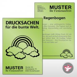 Flyer gestalten, Witzig Druck AG
