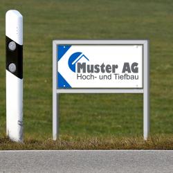 Baustellentafel drucken, Witzig Druck AG