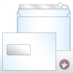 Kuvert C5 Standard Fenster...