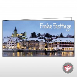 Weihnachtskarte Munot, Witzig Druck AG