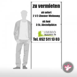 Plakatständer, Druckerei Witzig Druck AG