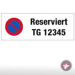 Parkplatz Tafeln drucken, Witzig Druck AG