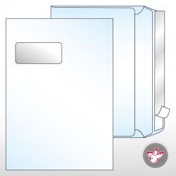 Kuvert C4 Standard Fenster...