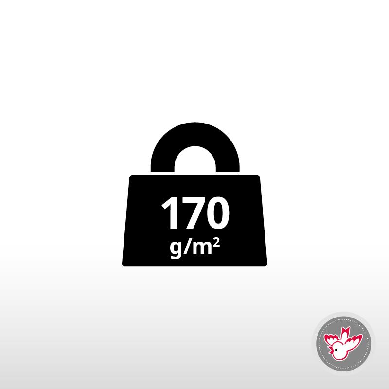 170 g/m²
