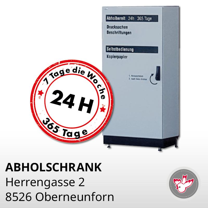 Abholschrank 8526 Oberneunforn