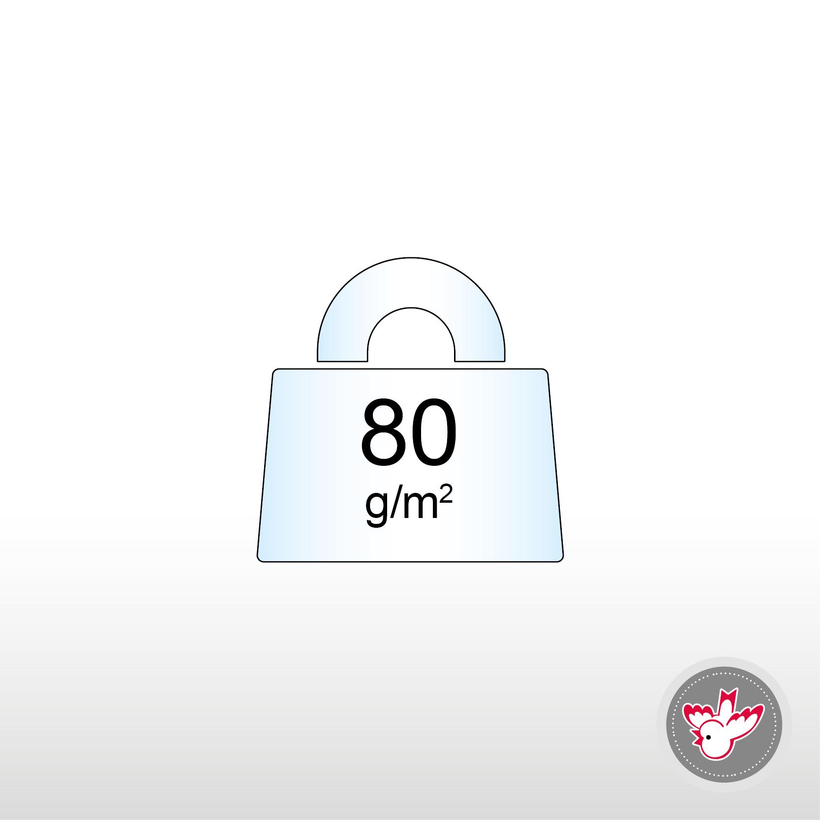 80 g/m², FSC