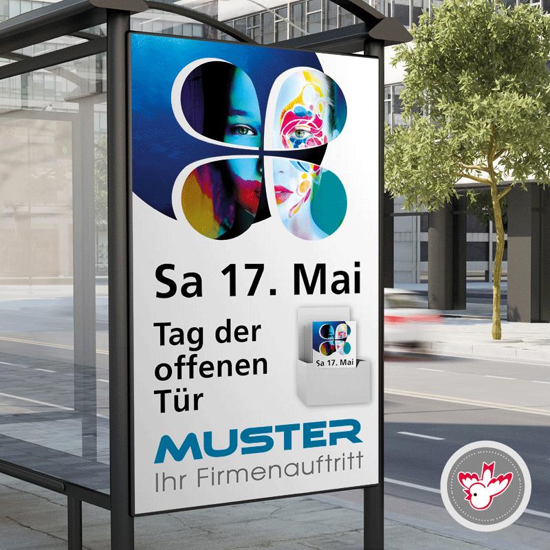 Flyer, Plakate